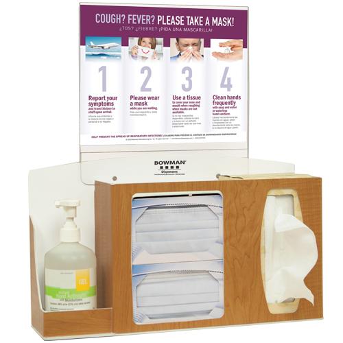 Bowman Cover Your Cough Compliance Kit Bowman BD212-0023