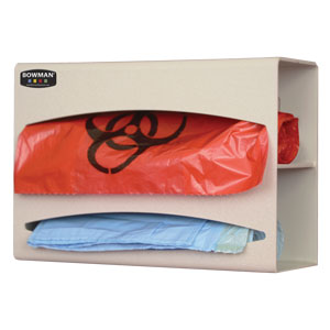 Bowman Bag Dispenser - Double Bowman BG002-0212