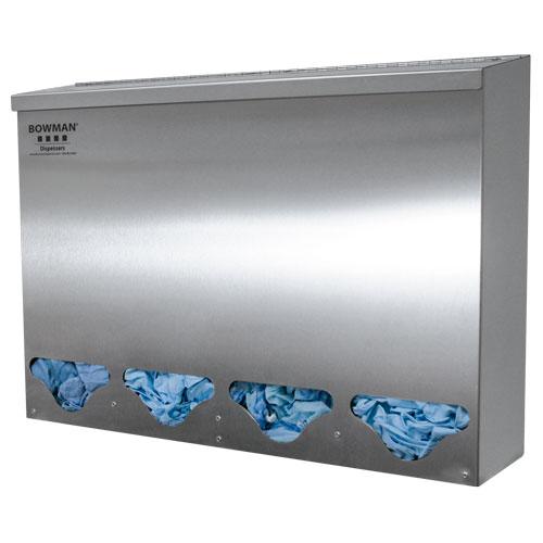 Bowman Bulk Dispenser - Tall Quad Bin Bowman BK314-0300