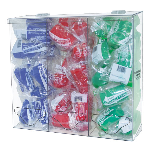 Bowman Bulk Dispenser - Tall Triple Bin Bowman BP-090