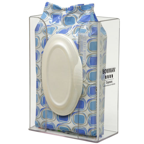 Bowman Personal Wipe Dispenser - Short-Thick Bowman CL012-0111