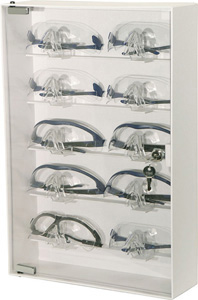 Bowman Eyewear Cabinet - Locking Bowman CP-075