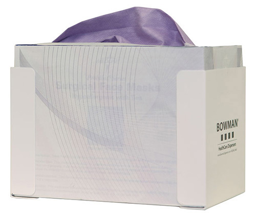 Bowman Face Mask Dispenser - Tie Style Bowman FB-021