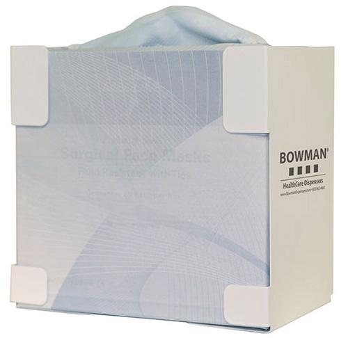 Bowman Face Mask Dispenser - Tie Style Bowman FB-063