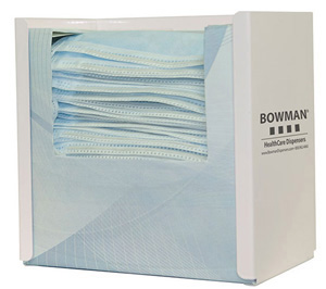 Bowman Face Mask Dispenser - Tie Style Bowman FB-091