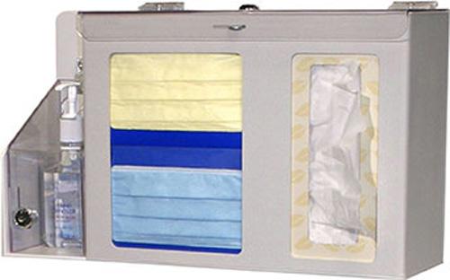 Bowman Respiratory Hygiene Station - Locking Bowman FD-062