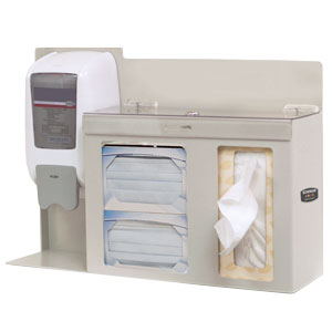 Bowman Respiratory Hygiene Station - Locking Bowman FD-112