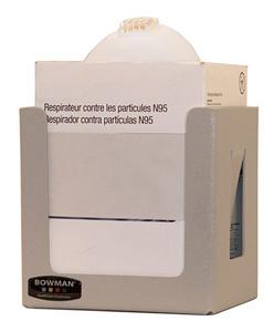Bowman Face Mask Dispenser - Universal Boxed - Cone Bowman FM300-0212