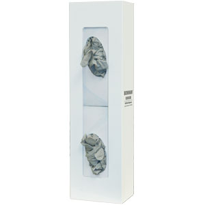 Bowman Glove Box Dispenser - Double - Space Saver Bowman GB-067