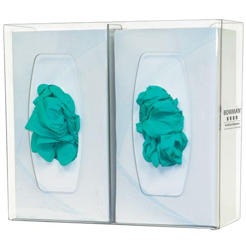 Bowman Glove Box Dispenser - Double with Divider Bowman GL020-0111