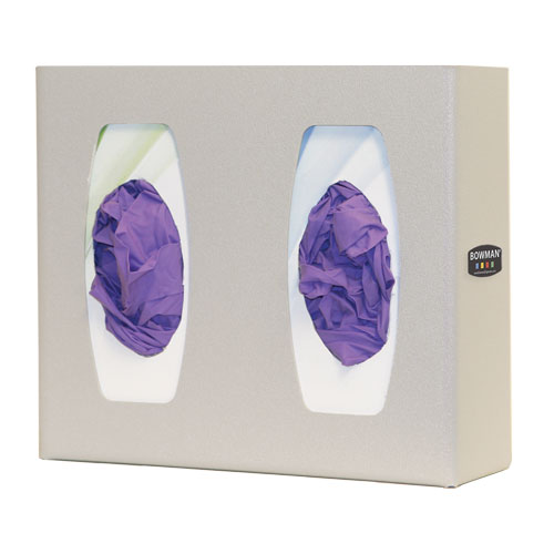 Bowman Glove Box Dispenser - Double with Divider Bowman GL020-0212
