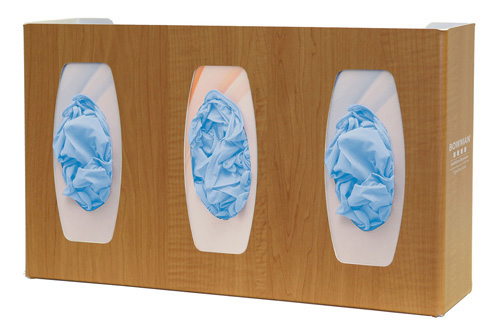 Bowman Glove Box Dispenser - Triple with Dividers Bowman GL030-0223