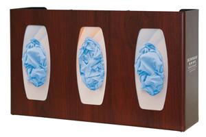 Bowman Glove Box Dispenser - Triple with Dividers Bowman GL030-0233