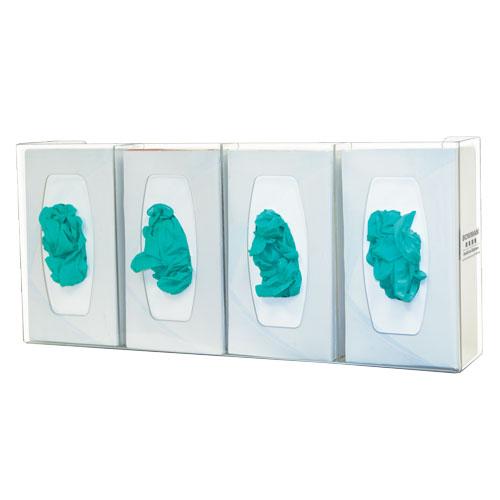 Bowman Glove Box Dispenser - Quad with Dividers Bowman GL040-0111