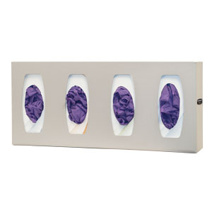 Bowman Glove Box Dispenser - Quad with Dividers Bowman GL040-0212