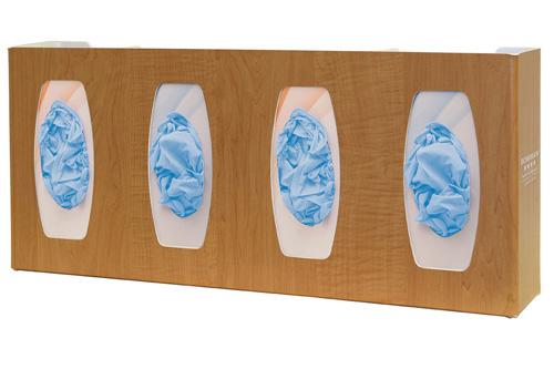 Bowman Glove Box Dispenser - Quad with Dividers Bowman GL040-0223
