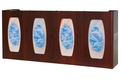 Bowman Glove Box Dispenser - Quad with Dividers Bowman GL040-0233