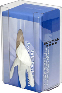 Bowman Glove Box Dispenser - Single - Large Capacity with Flexible Spring Bowman GP-020