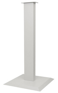 Bowman Floor Stand - All Steel - Matte White Bowman KS010-0434
