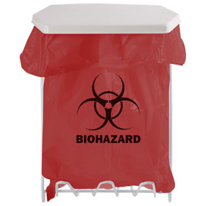 Bowman Biohazard Bag Holder - 1 Gallon Bowman MW-001
