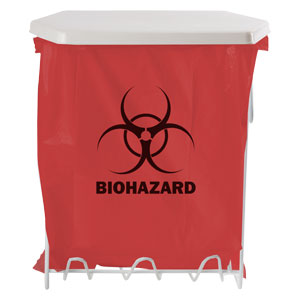 Bowman Biohazard Bag Holder - 3 Gallon Bowman MW-003