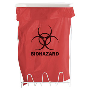 Bowman Biohazard Bag Holder - 5 Gallon Bowman MW-005