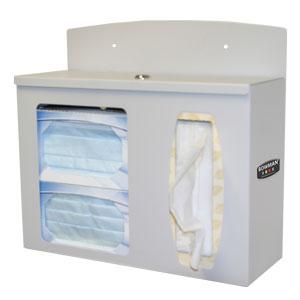 Bowman Respiratory Hygiene Station - Locking Bowman RS002-0512