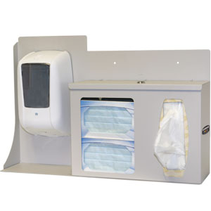 Bowman Respiratory Hygiene Station - Locking Bowman RS005-0212