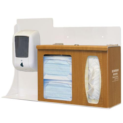 Bowman Respiratory Hygiene Station - Locking Bowman RS005-0223