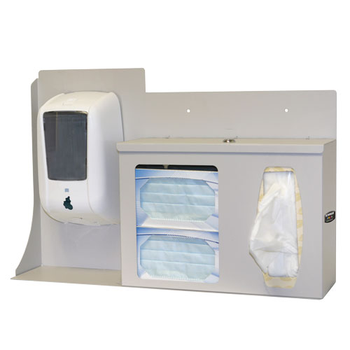 Bowman Respiratory Hygiene Station - Locking Bowman RS005-0512